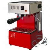 Quick Mill 810 met stoompijp (ESE) (Rood) + Giant Cup cadeau