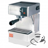 Quick Mill 810 met stoompijp (ESE) (Wit) + Giant Cup cadeau