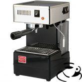 Quick Mill 810 met stoompijp (ESE) (Zwart)+ Giant Cup cadeau